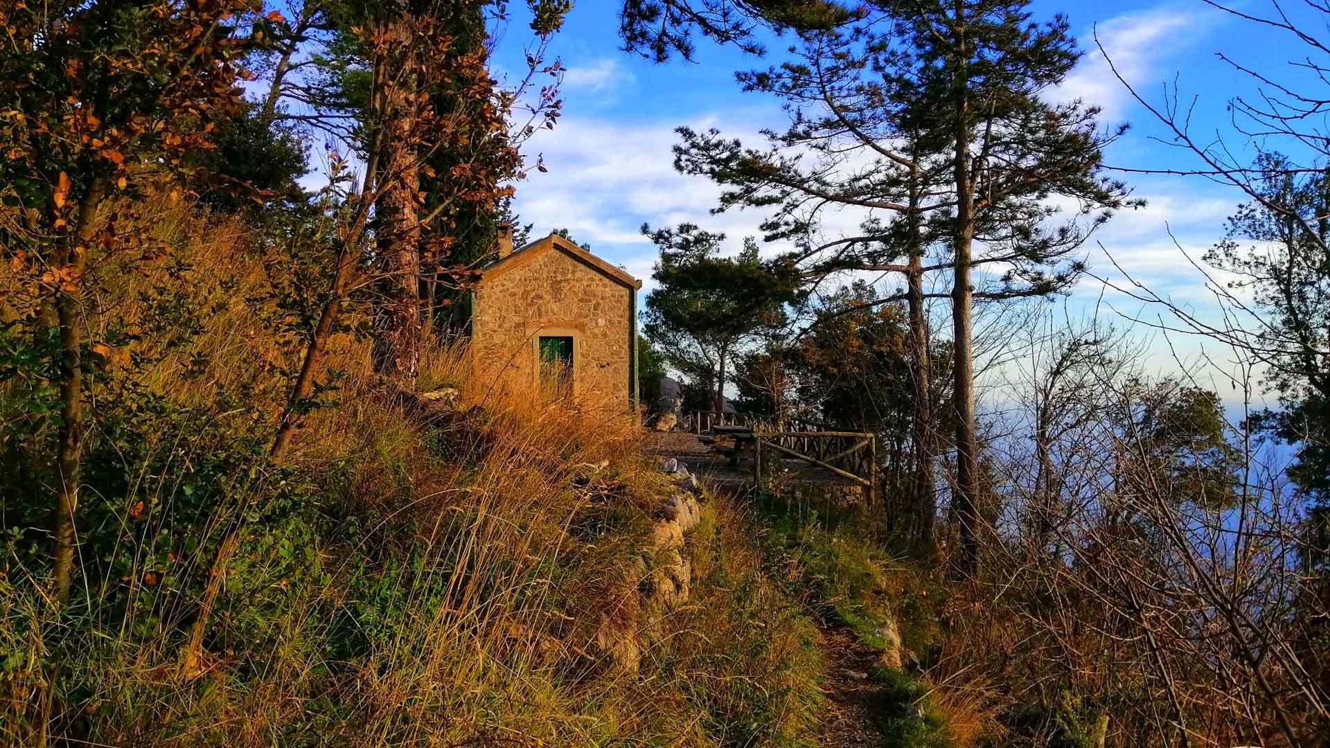 Tese di San Giuseppe Path